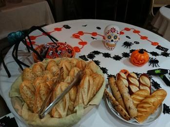 Petit déjeuner d'Halloween