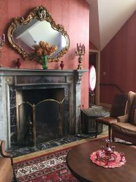 Count Rumford Fireplace in Parlor