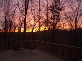 Panoramic (seasonal) Sunset View from Hotel
