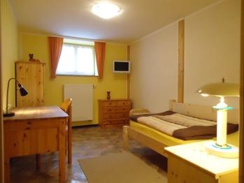 Einzelzimmer-Economy-Gemeinsames Badezimmer