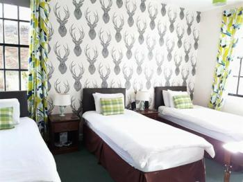 Twin room-Deluxe-Ensuite-Mountain View-Green Room