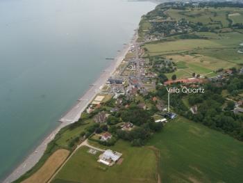 La Villa Quartz (vue aérienne)