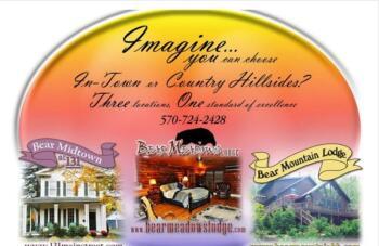 Our 3 Properties: Bear Mountain, Bear Meadows & 131 Main