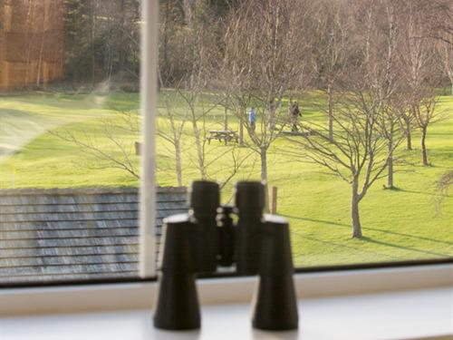 All rooms have binoculars to look at the stunning scenery in closer detail