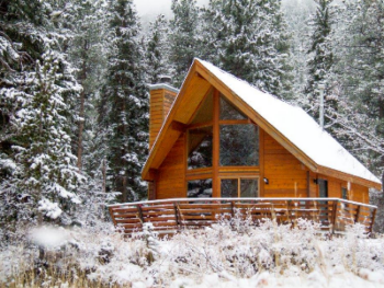 Cabin-Private Bathroom-Family-River view-Riverside Cabin - 2 Story - Base Rate