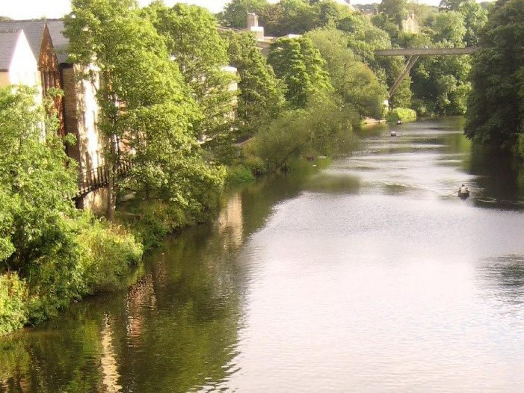 Located on the banks of the River Wear