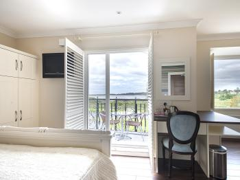 Bay view room with own balcony