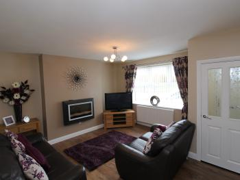 Colliery Cottage - Living room