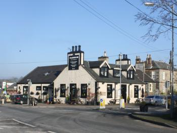 The Bladnoch Inn - Outside View from Bridge