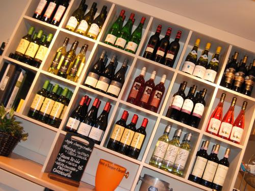 A good selection of wine...