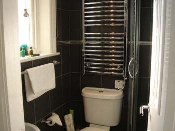 Room 1 small contemporary shower en-suite