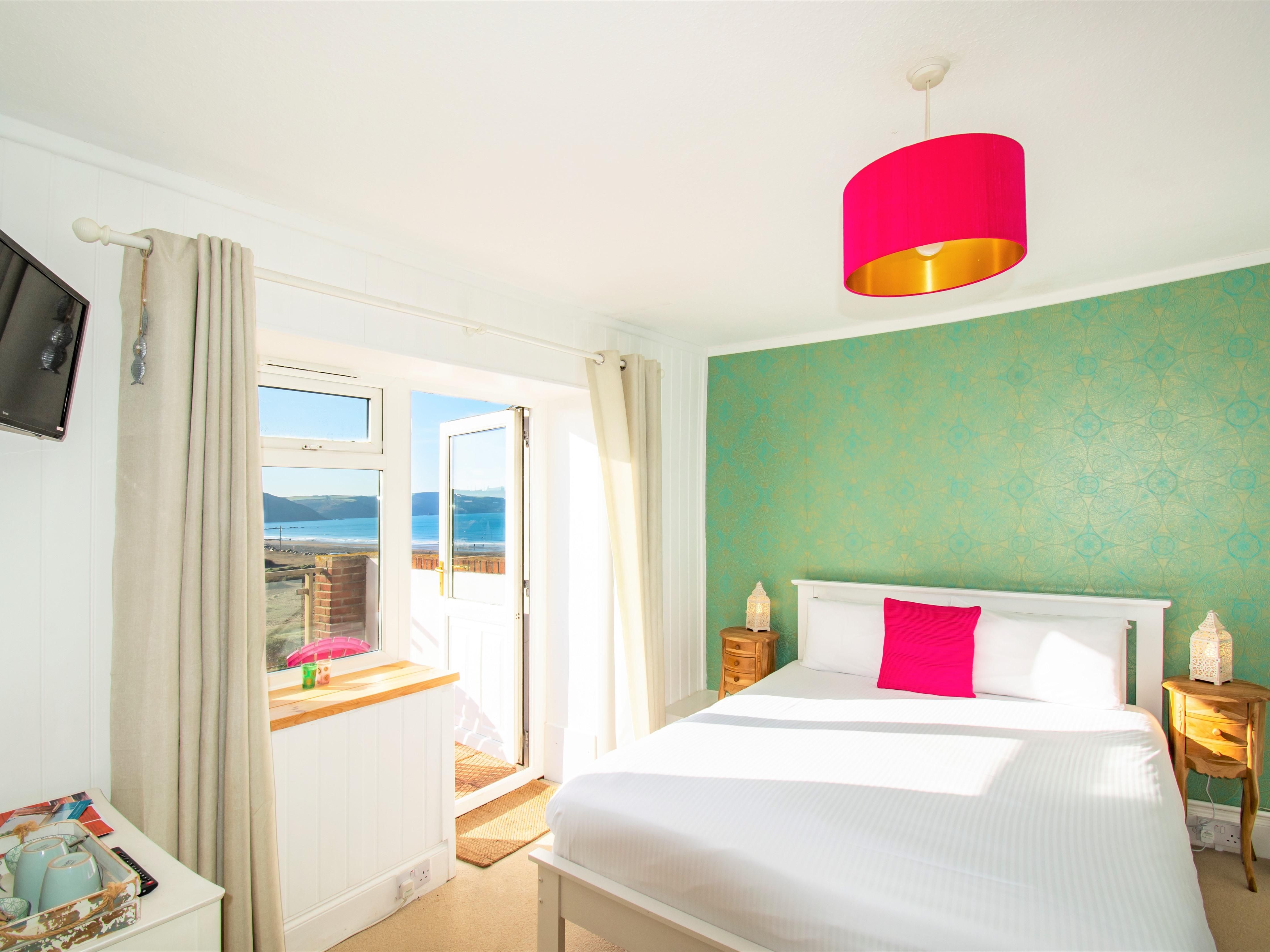 King-Ensuite-Sea View-Balcony - Base Rate