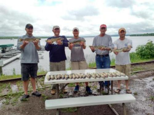 Fishin' is good on Lake Gogebic - you got to put your time in.