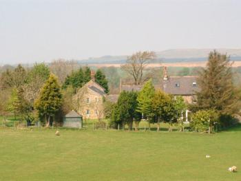 Bush Nook surrounded by open countryside