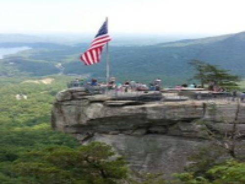 Chimney Rock State Park, one of North Carolina's top attractions, is just 5 minutes away