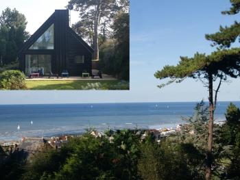 Le Carré de la Villa Quartz - Le Carré Quartz : vue sur mer et façade Ouest