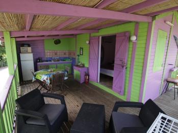 Bungalow-Salle d'eau-Vue mer-Montserrat - Bungalow-Salle d'eau-Vue mer-Montserrat