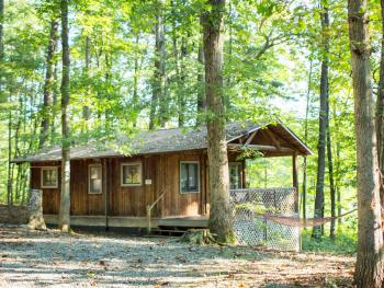 The #2 Butternut Cottage is a family favorite with a great view of the Montfair Lake.