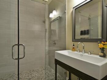 Standing Glass Shower