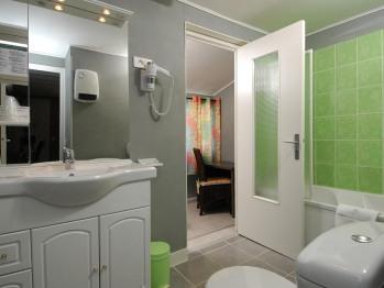 Triple-Salle de bain Privée
