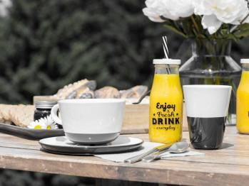 Petit déjeuner sur votre terrasse privative