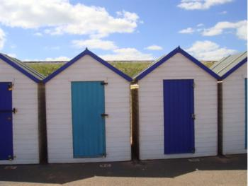 Beach huts at Goodrington Beach