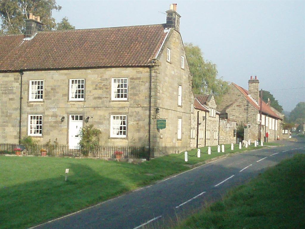Front view of Burnley House