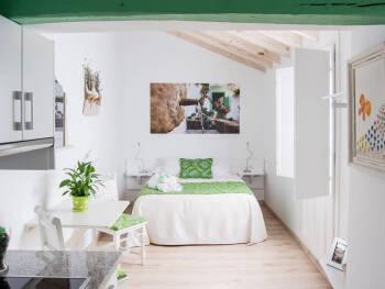 Malaquita-Apartamento-Baño con ducha-Balcón