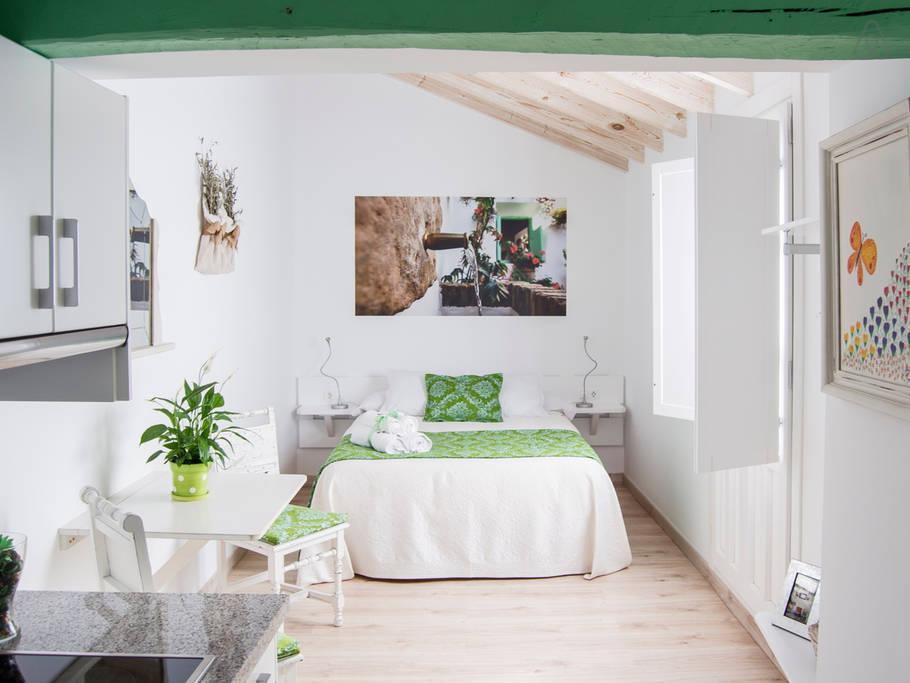 Malaquita-Apartamento-Baño con ducha-Balcón - Estándar