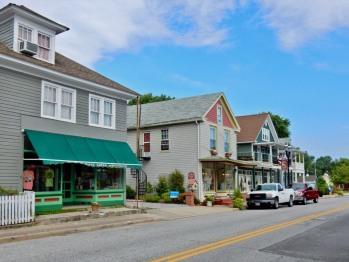 Enjoy a stroll down Main Street!