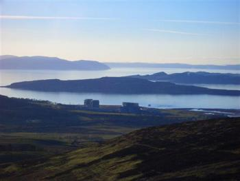 Hunterston, Cumbraes and the Sound of Bute