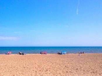 Close to Sutton on Sea beach