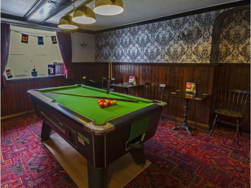 Pool Room in Bar Area