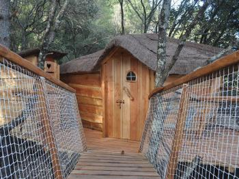 Cabane-Romantique-Salle de bain-Vue sur la rivière