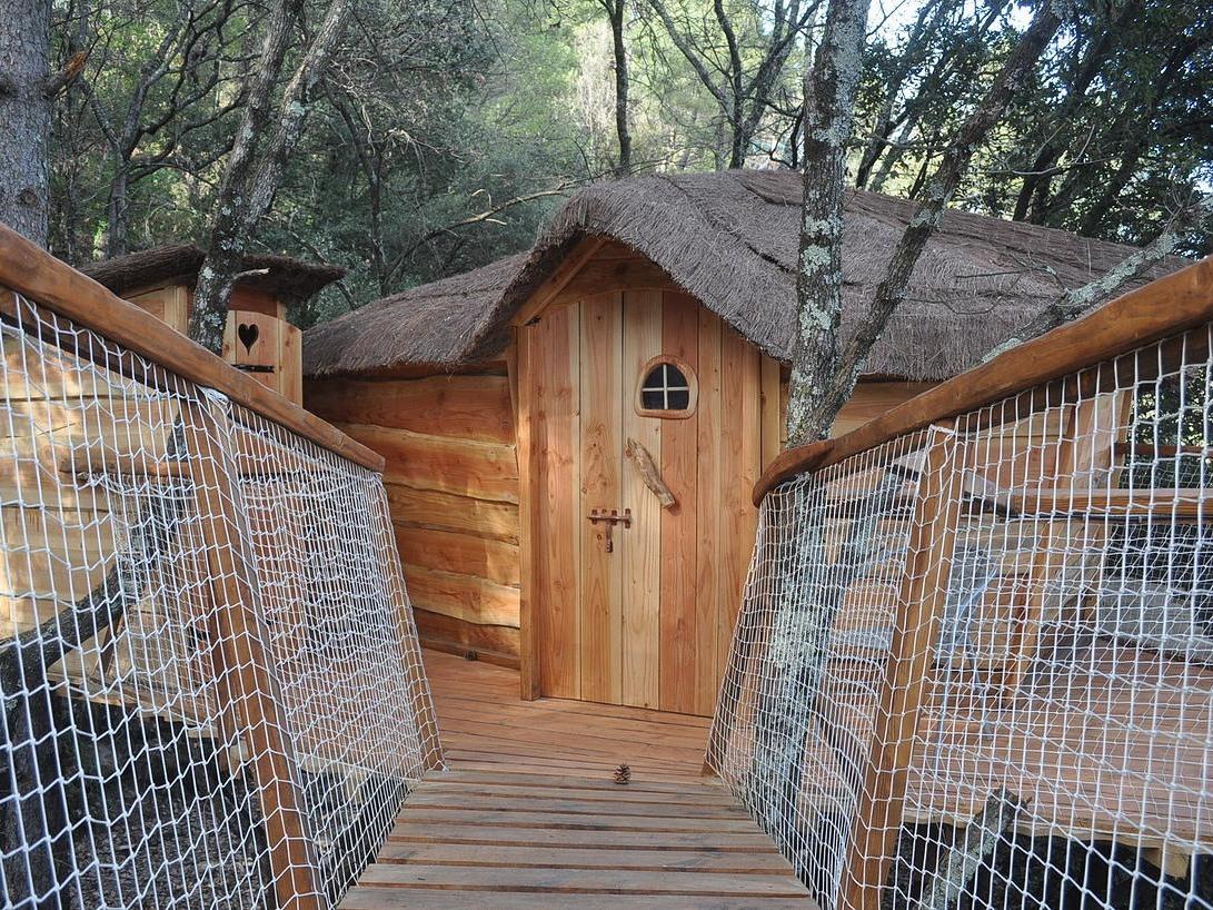 Cabane-Supérieure-Salle de bain-Vue sur la rivière - Tarif de base