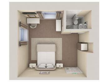 Double Room Floor Plan