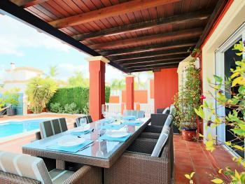 Outside Covered Terrace/Dining Area