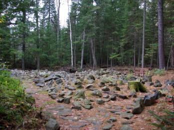 Enjoy the secret rock garden near Gate Cottage started in the 1920's