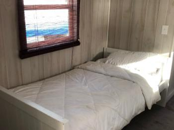 Floating Cottage Guest Bedroom