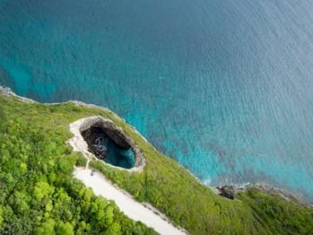 Survols extraordinaire de l'île