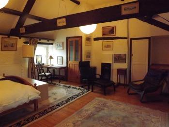 Family loft en suite double room