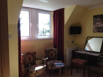 Our Double Room with luxury en-suite Garden and Sea View