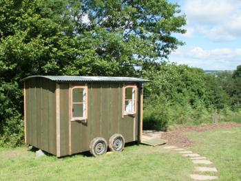 Wild Blue Yonder Private Bathroom and Kitchen Yurt Wagon