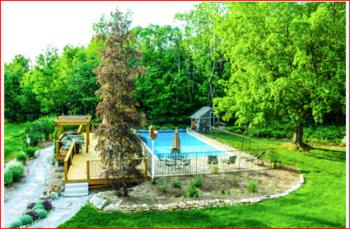 Outdoor Pool & Gardens