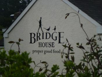 "Bridge House,"" proper good food """