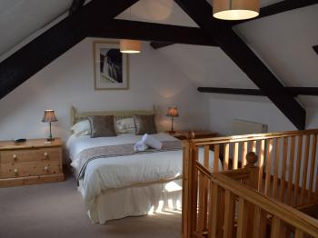 The Bedroom in Japonica Cottage