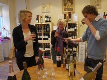 Wine Shop and Reception Ground floor