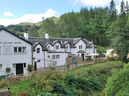 Hotel from the Bridge of Lochay