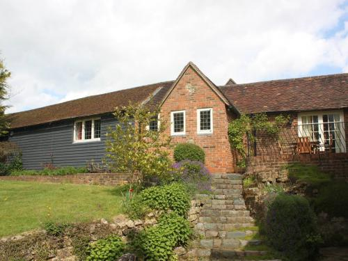 View of cottage from the garden.