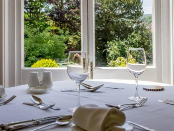 Enjoy breakfast and dinner in our beautiful dinning room